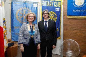 Marilena Lo Sardo e Sebastiano Passarello - 43° anniversario RC Marsala